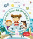 Vor dem Essen Hände waschen!
