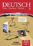Deutsch: Texte - Literatur - Medien. Mittlere Schulformen und Gymnasium / 5. Schuljahr - Schülerbuch