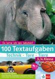 100 Textaufgaben Technik - Tore - Tiere