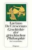 Geschichte der griechischen Philosophie I