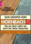 Sehr geehrter Herr Hornbach
