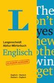 Langenscheidt Abitur-Wörterbuch Englisch  - Buch mit Online-Anbindung