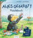 Der kleine Rabe Socke: Alles gefärbt! - Puzzlebuch