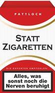 Statt Zigaretten (rote Schachtel)