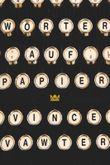 Wörter auf Papier