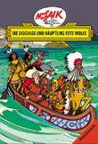Mosaik von Hannes Hegen: Die Digedags und Häuptling Rote Wolke