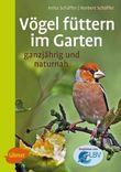 Vögel füttern im Garten