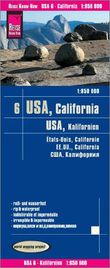 Reise Know-How Landkarte USA 06, Kalifornien (1:850.000): world mapping project