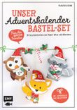 Unser Adventskalender Bastel-Set – Für die ganze Familie - Mit Papierbogen und Anleitungen