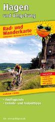 Rad- und Wanderkarte Hagen und Umgebung: Mit Ausflugszielen, Einkehr- & Freizeittipps, wetterfest, reissfest, abwischbar, GPS-genau. 1:50000