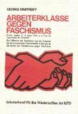 Arbeiterklasse gegen Faschismus