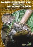 Falsche Landkarten- und Mississippi-Höckerschildkröten