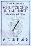 Schriftzeichen und Alphabete