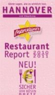 Marcellino's Restaurant Report Hannover 2010/2011 - Edition Pink-Champagne