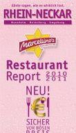 Marcellino's Restaurant Report Rhein-Neckar 2010/2011 - Edition Pink-Champagne
