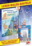"""Lesen-Malen-Basteln: Buch """"Wie Jana ihre Angst vor dem Wasser verliert"""" & Bastelset """"Bilderrahmen Seepferdchen"""""""