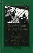 Eine Studie in Scharlachrot - Sherlock Holmes Werkausgabe - Romane 1
