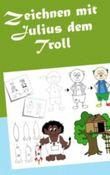 Zeichnen mit Julius dem Troll