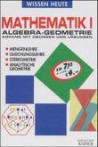 Algebra, Geometrie