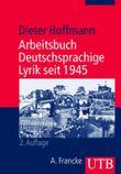 Arbeitsbuch Deutschsprachige Lyrik seit 1945