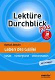 Bertolt Brecht: Leben des Galilei - Buch mit Info-Klappe