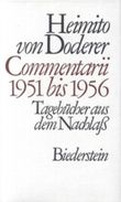 Commentarii 1951 bis 1956
