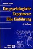 Das psychologische Experiment, Eine Einführung