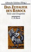 Die Deutsche Literatur. Texte und Zeugnisse / Die Deutsche Literatur  Bd. 3: Das Zeitalter des Barock