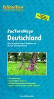 Deutschland Radfernwege Attraktivsten Radtouren + Kaart
