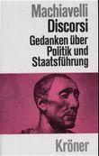 Discorsi. Gedanken über Politik und Staatsführung