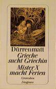 Grieche sucht Griechin. Mister X macht Ferien (250/21)