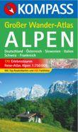Grosser Wanderatlas Alpen
