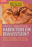 Haben Tiere ein Bewußtsein?