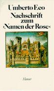 """Nachschrift zum """"Namen der Rose"""""""