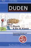 Physik 8. bis 10. Klasse
