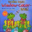 Schöne bunte Window-Color-Welt