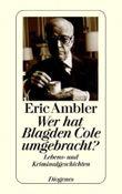 Wer hat Blagden Cole umgebracht?