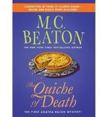 { THE QUICHE OF DEATH (AGATHA RAISIN MYSTERIES (PAPERBACK) #1) } By Beaton, M C ( Author ) [ Aug - 2012 ] [ Paperback ]