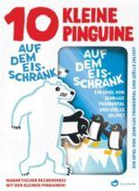 10 kleine Pinguine auf dem Eisschrank