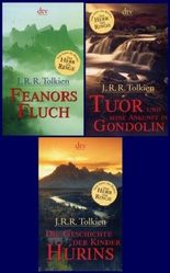 3 Bücher: Feanors Fluch / Tuor und seine Ankunft in Gondolin / Die Geschichte der Kinder Hurins