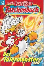 Lustiges Taschenbuch LTB Nr. 145 - Das Talermonster  Walt Disneys