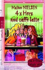 4 x Herz und caffè latte