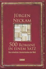 500 Romane in einem Satz