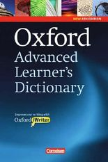 Oxford Advanced Learner's Dictionary - 8th Edition / B2-C2 - Wörterbuch (Festeinband) mit Writing Tutor und CD-ROM