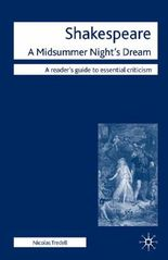 "Shakespeare: ""a Midsummer Night's Dream"""