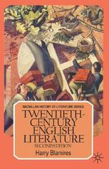 Twentieth Century English Literature