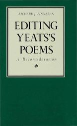 Editing Yeats' Poems