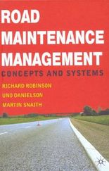 ROAD MAINTENANCE MANAGEMENT