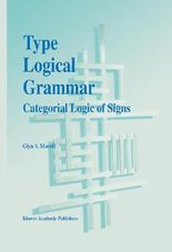 Type Logical Grammar