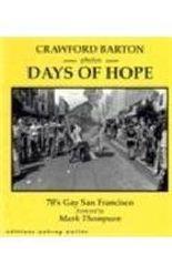 Days of Hope: 70'S Gay San Francisco